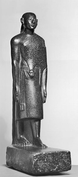 266px-egyptian_-_standing_priest_wearing_leopard_skin_-_walters_22113